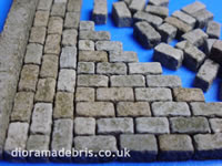 1:24 Scale Setts (cobblestones)