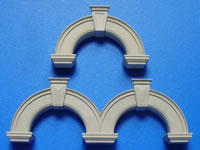 New 1:35 Scale Victorian Terrace Arches Mould