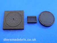 1:48 Scale Manholes and Drains